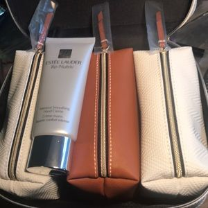 Make up travel bag and hand creme